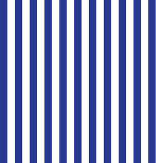 Vibrant Indigo Stripe Shelf Paper Drawer Liner - Contemporary - Drawer & Shelf Liners - by Chic ...