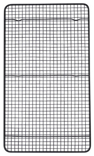 Mrs Anderson&x27;s Nonstick Cooling Rack, 10x18, Black.