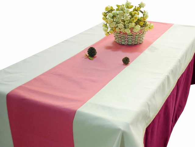 Rectangle Tablecloth Canvas Table Cloth Simple Stripe Designed Table Covers  Contemporary Tablecloths
