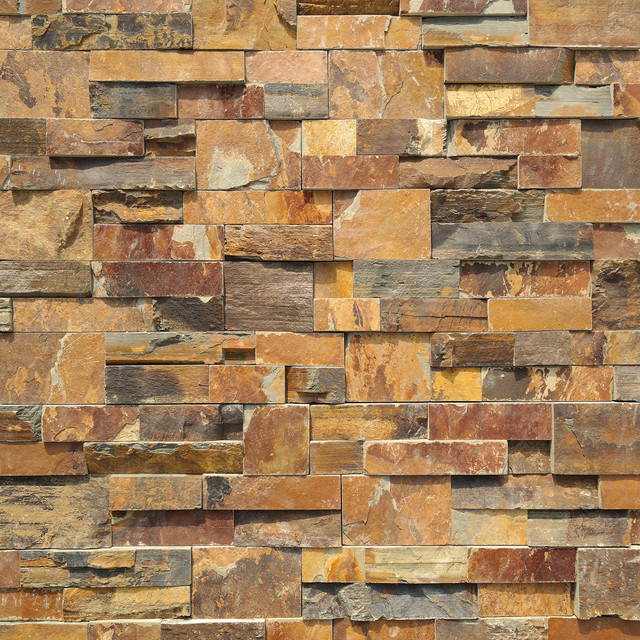 Natural Stone Stacked Panel, 100sqft, Odra.