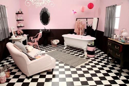 Salle de bains de la Semaine : Bonbonnière d\'antan ou d ...