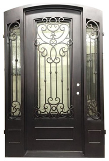 Magnolia 61 Quot X96 Quot Single Door With Sidelights Left Hand