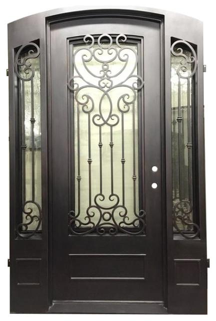 Magnolia 61 Quot X96 Quot Single Door With Sidelights Left Hand