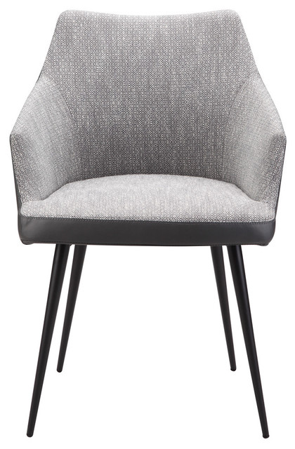 Moe Home Contemporary Dining Chair, Gray Finish by Moe's Home