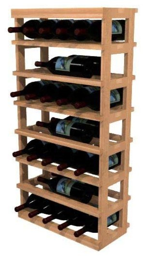 Vana Wine Rack, Redwood.
