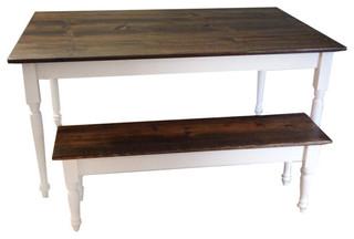 "French Marsanne Farm Table, 66"""
