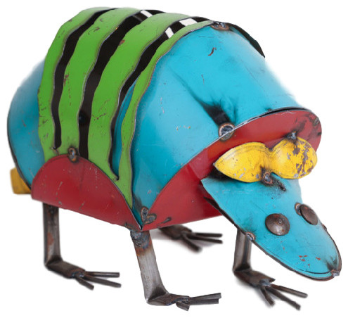 Recycled Metal Armadillo