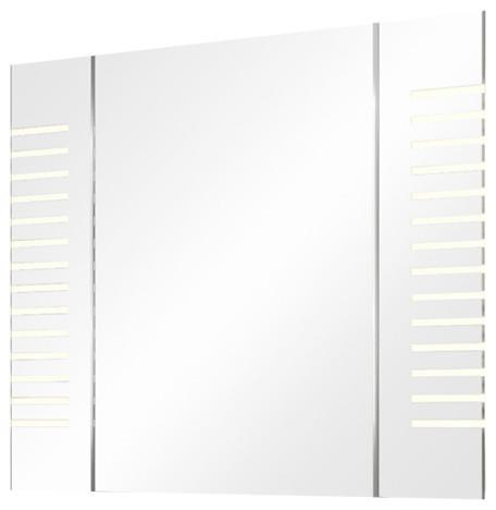 Ambient White Bathroom Mirror Cabinet, 60x65 cm