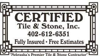 Certified Tile Stone Inc Omaha NE US - Certified tile inc