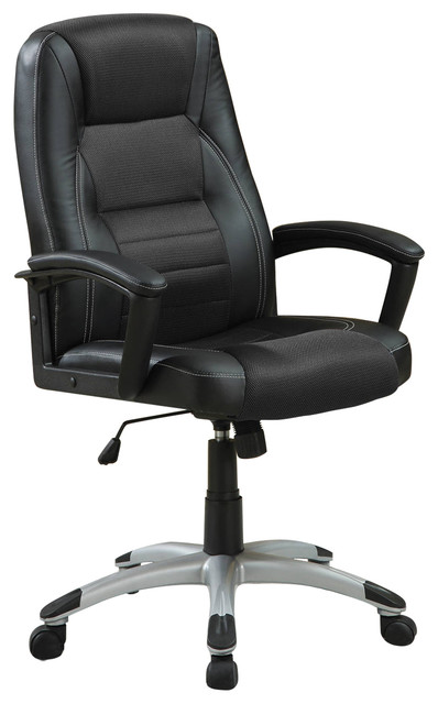 Coaster Decorative Black Office Chair