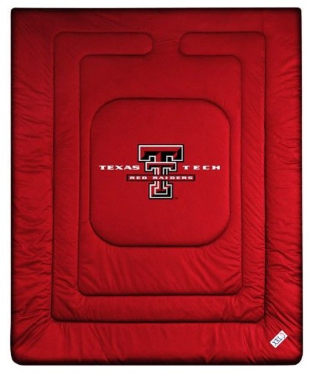 Texas Tech Red Raiders Locker Room Quilted Bed Comforter  : traditional comforters and comforter sets from www.houzz.com size 452 x 542 jpeg 44kB
