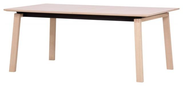 esstisch stig ausziehbar eiche 180x100 cm modern. Black Bedroom Furniture Sets. Home Design Ideas
