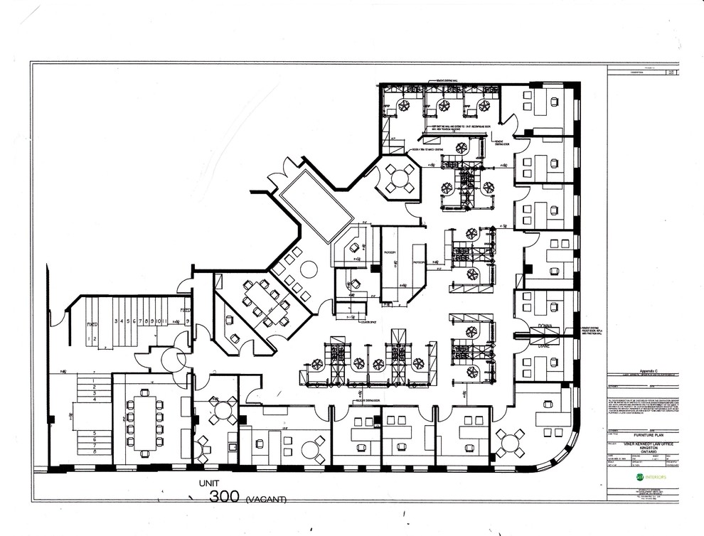 commercial space plan- law office