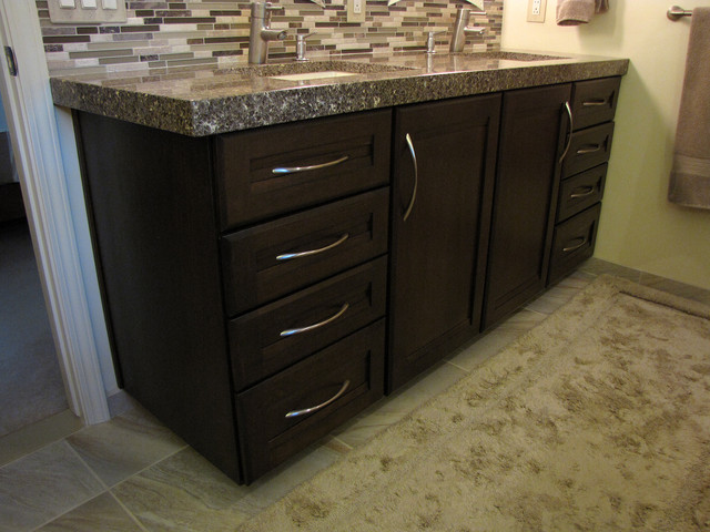 Shop Houzz Solid Surfaces Unlimited Master Bath Remod