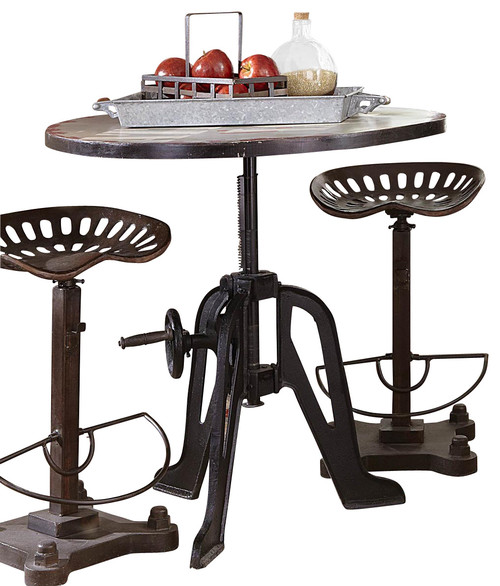 Homelegance Amara Iron Lift-Top Table