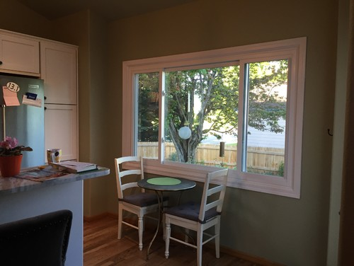 Easy To Clean Window Treatments For Kitchen?