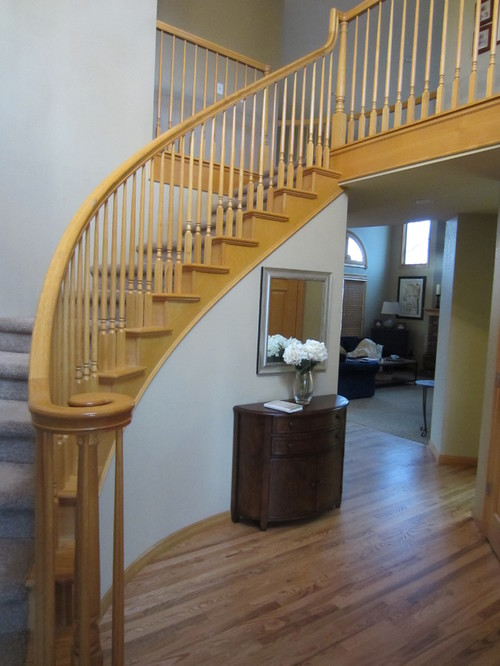 Perfect NOTE: I Will Also Replace Carpet On The Stairs With A Patterned,  Flatter/more Traffic Friendly.
