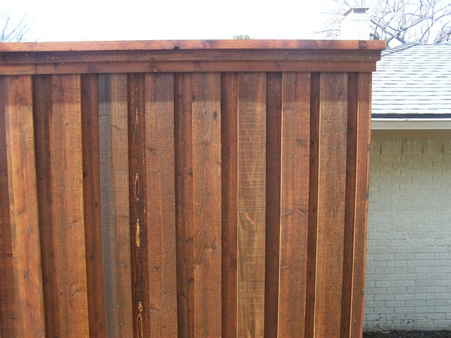 Board On Board Cedar Fence Dallas By Texas Best Fence