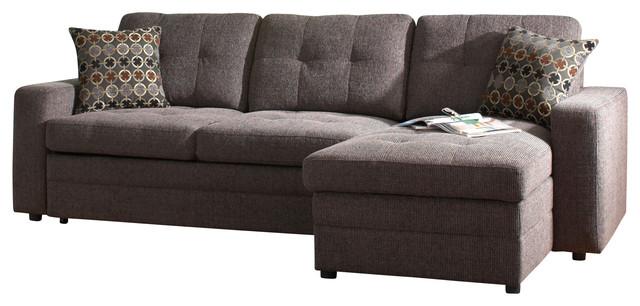 coaster gus chenille sectional sofa sofas