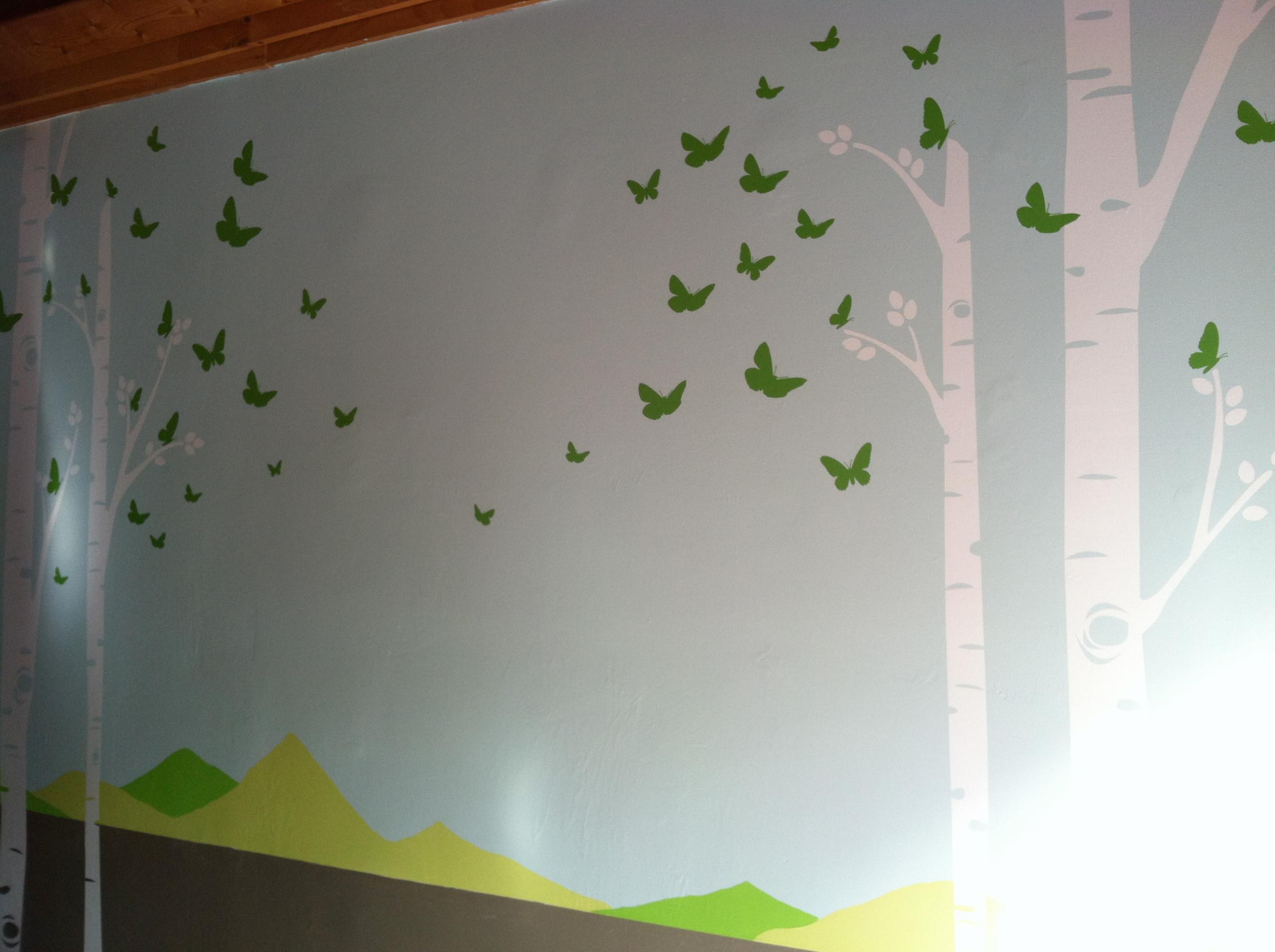 Play Studio - wall mural