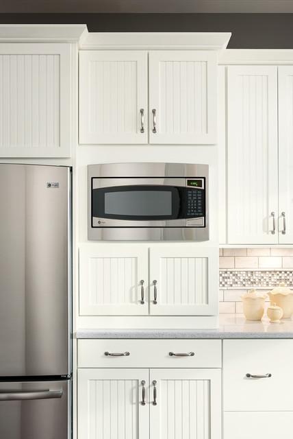 Cottage Painted Linen Cabinets - Transitional - Kitchen - DC Metro - by Shenandoah Cabinetry