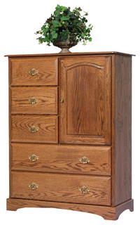 Sierra Classic Chest of Drawers With Door
