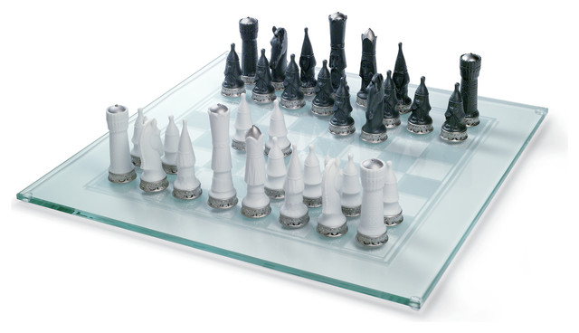 Chess Set Figurine Modern Decorative Objects And Figurines