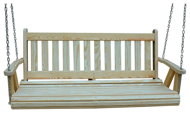 Mission Amish Heavy Duty 800lb 5&x27; Porch Swing.