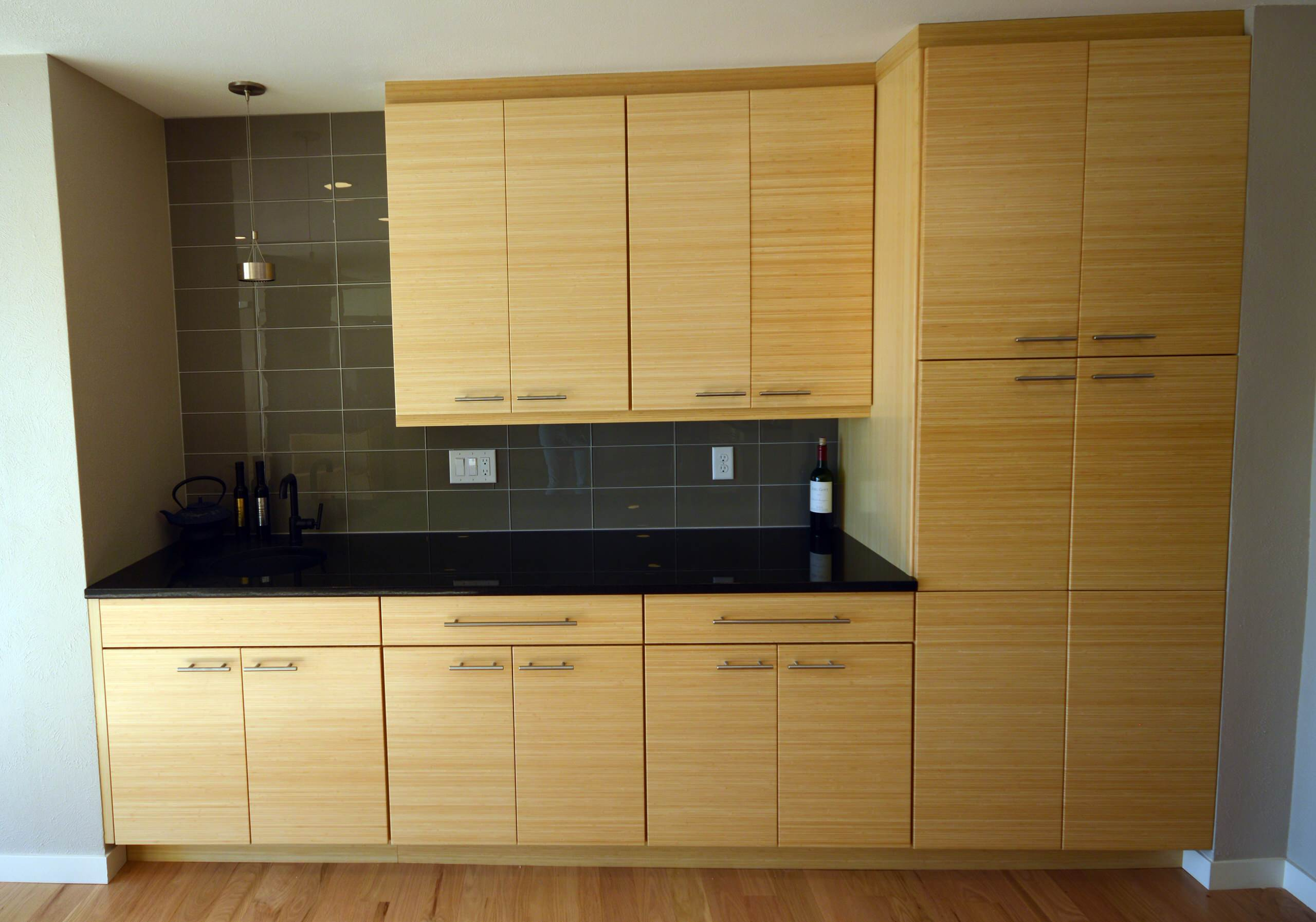 Modern Bamboo Kitchen in Westminster