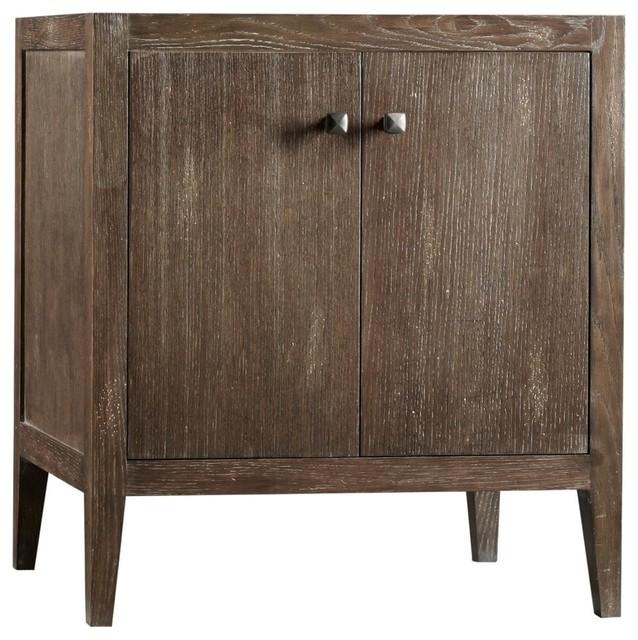 Ronbow Sophie Solid Wood 30 Vanity Cabinet Base Vintage Cafe Transitional Bathroom