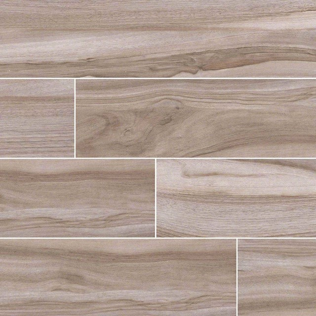 Aspenwood Ash Porcelain Sample Traditional Wall And Floor Tile