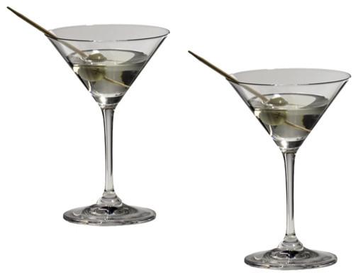 Riedel Vinum Martini Glasses Set Of 2 Traditional
