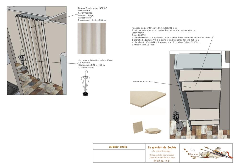Projet de décoration Eure & Loir