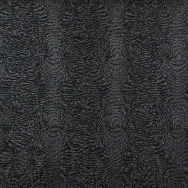 Black Stingray Look Faux Leather Vinyl By The Yard