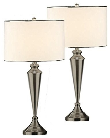 Decco Table Lamps, Set Of 2.