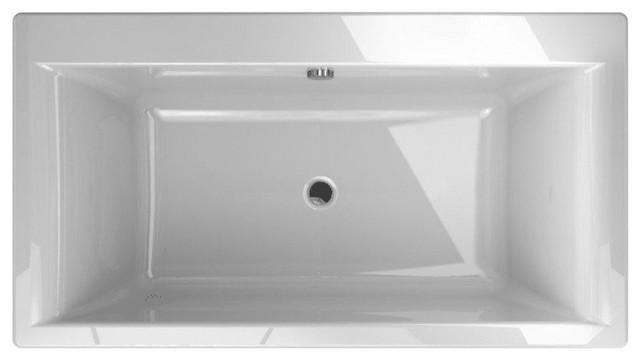 "Jacuzzi Fif6636bcxxxx Fiore 65.5"" Soaking Freestanding Bathtub."