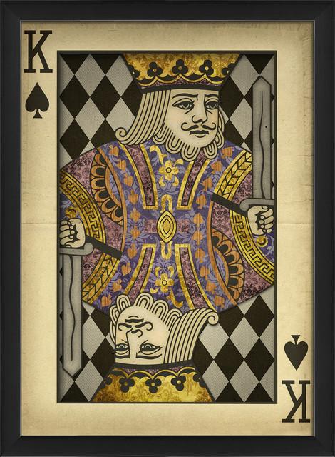 King Of Spades Art Print 12 63 Quot X17 13 Quot Traditional