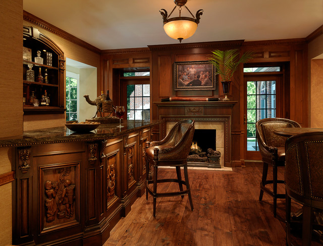 Traditional Bar Traditional St Louis By Directions In Design Inc