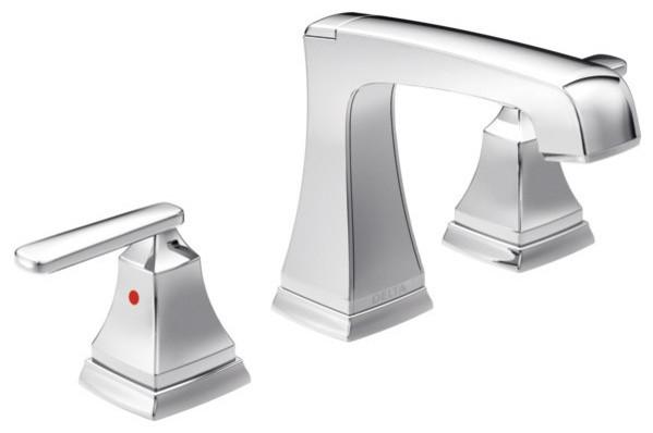 Delta ashlyn widespread bathroom faucet 3564 mpu dst - Delta contemporary bathroom faucets ...