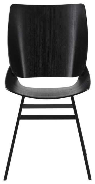 Shell Dining Chair, Black