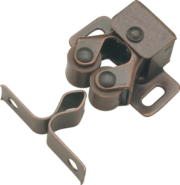 Statuary Bronze Double Roller Catch - Transitional ...