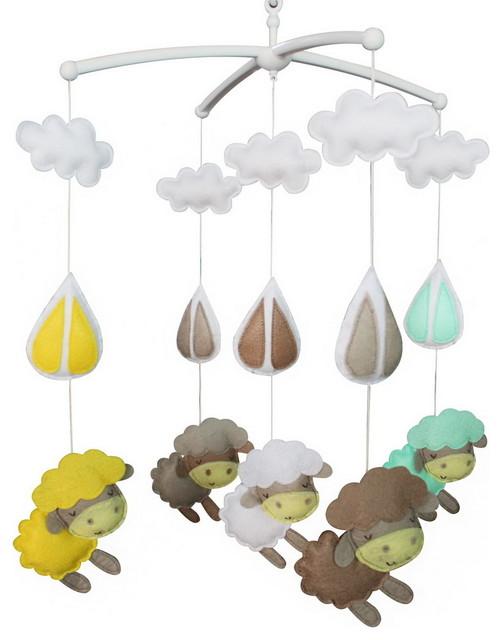 Modern Nursery Mobile Crib Decoration