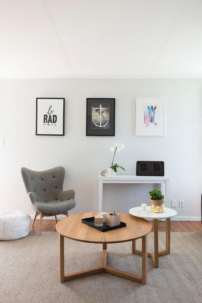 Inspiration for a scandinavian home design.