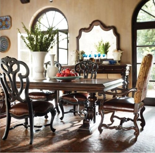 Stanley Furniture Costa Del Sol 7 Piece Palazzo Dining Set With