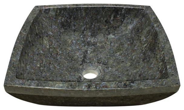 Polaris P758 Erfly Blue Granite Vessel Sink