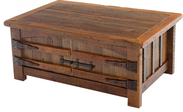 Barnwood Heritage Coffee Table Rustic Coffee Tables By