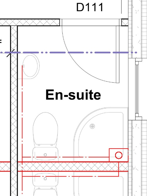 Help with small en suite bathroom layout for Ensuite design plans