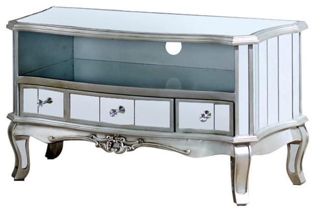 Vintage Mirrored TV Cabinet - Tiffany Range