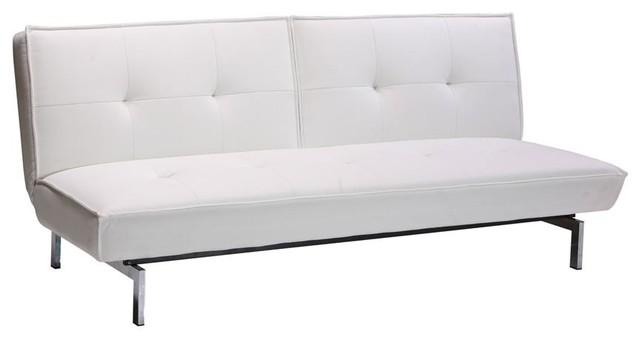 belle convertible futon in white contemporary futons contemporary futon   roselawnlutheran  rh   roselawnlutheran org