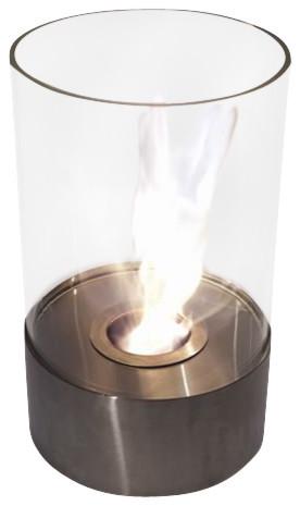Accenda Portable Tabletop Ethanol Fireplace.